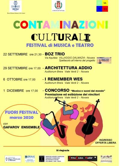 """1^ CONCORSO MUSICALE NAZIONALE CONTAMINAZIONI CULTURALI """"Musica e Suoni dal Mondo"""""""