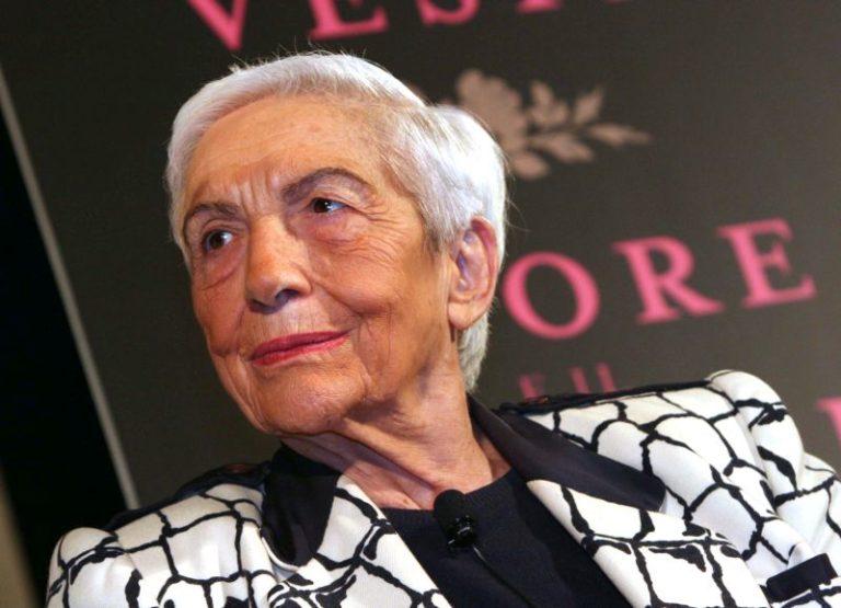 MORTA MARIA PIA FANFANI, VEDOVA DELLO STORICO LEADER DC