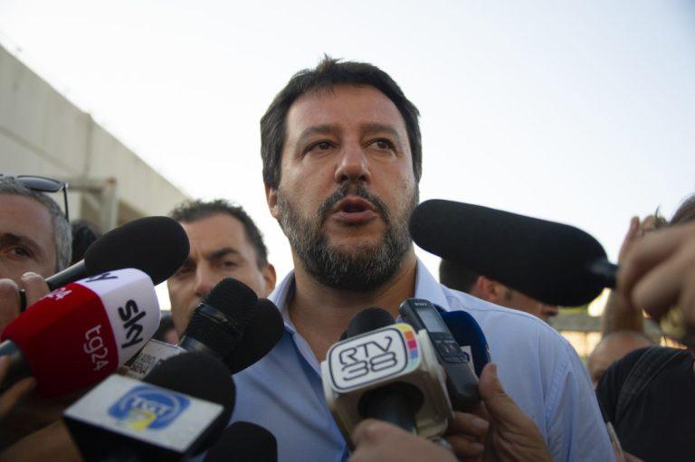 """SALVINI """"NEL GOVERNO UNA GUERRA TRA BANDE"""""""