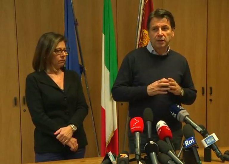 """CONTE A VENEZIA """"DICHIAREREMO STATO DI EMERGENZA, MOSE VA COMPLETATO"""""""