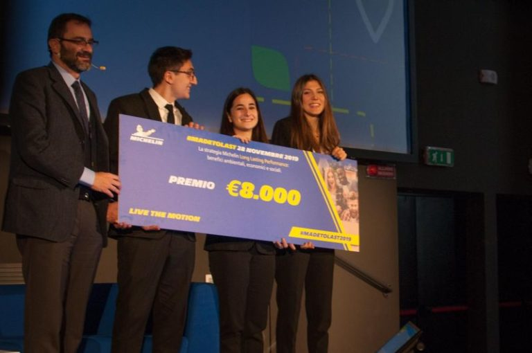 "ALL'ALMA MATER STUDIORUM BOLOGNA IL PREMIO ""LIVE THE MOTION"" MICHELIN"