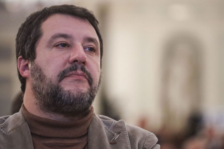 """SALVINI """"BASTA POLEMICHE, SERVE UN COMITATO DI SALVEZZA NAZIONALE"""""""
