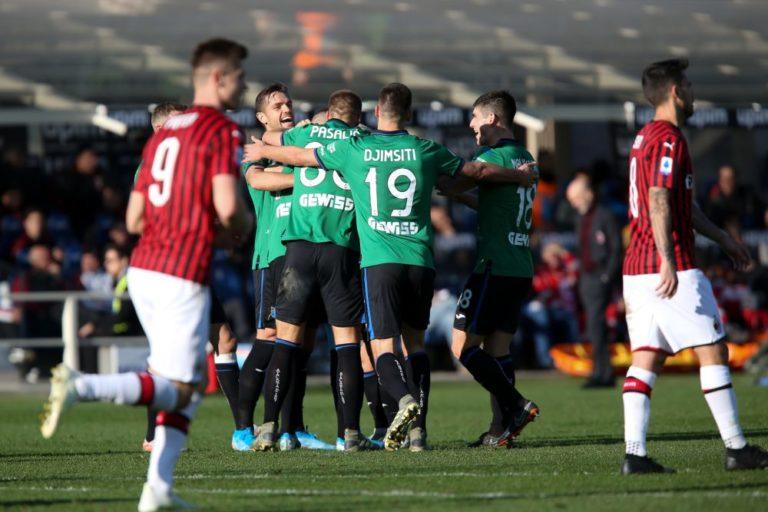 MILAN UMILIATO A BERGAMO, L'ATALANTA VINCE 5-0