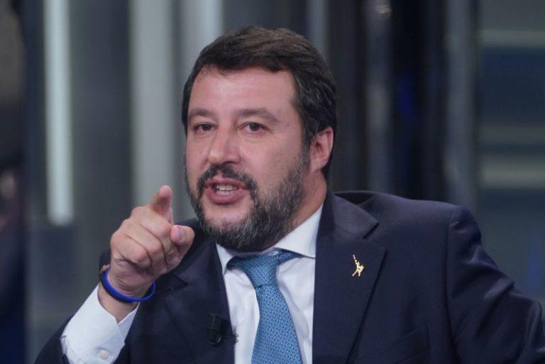 """SALVINI """"TORNERÒ AL GOVERNO CON IL VOTO DEGLI ITALIANI"""""""