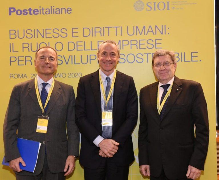 Poste Italiane rafforza l'impegno per la tutela dei diritti umani