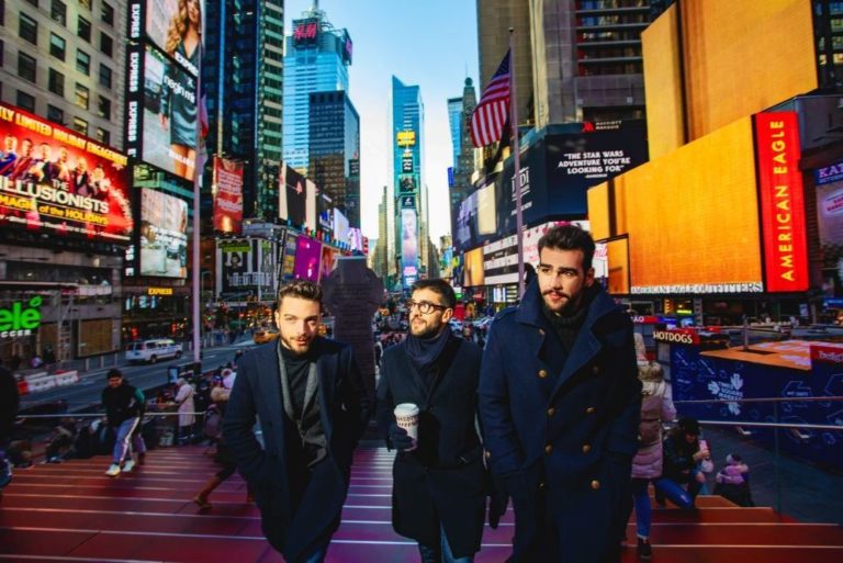 Il Volo in concerto in Nord America, sold out a New York