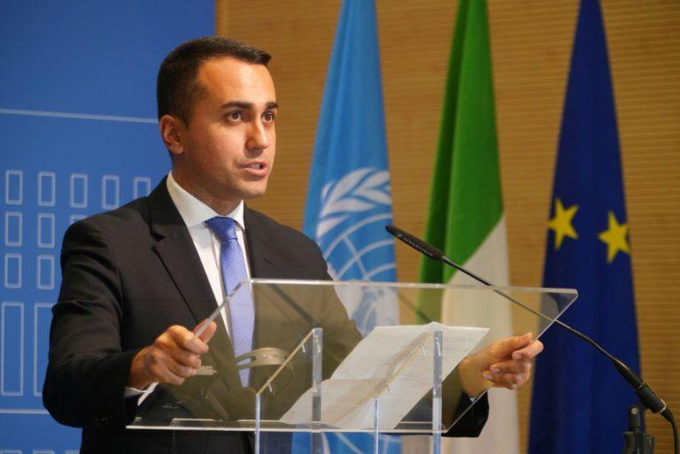 """Libia, Di Maio """"Tregua fragile, drammatiche violazioni"""""""