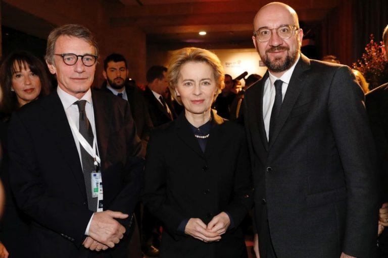 """Brexit, Michel-Sassoli-Von der Leyen """"Costruire nuovo partenariato"""""""