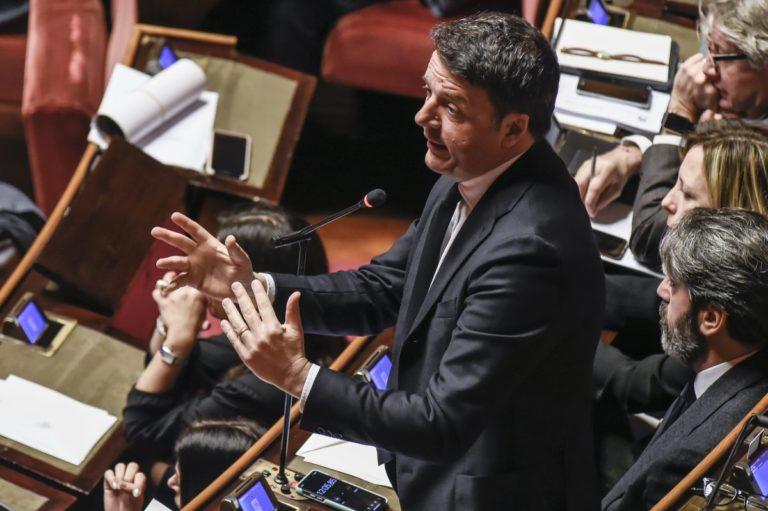 """Renzi """"Se Conte vuole la crisi la apra"""""""