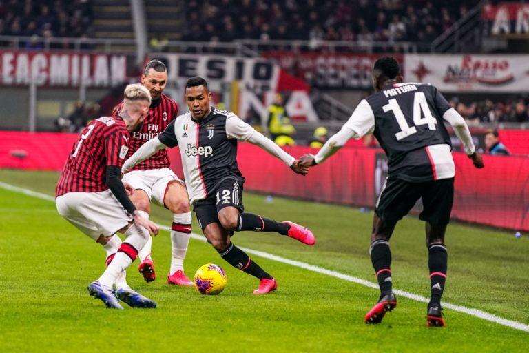 Pari fra Milan e Juve nella semifinale d'andata di Coppa Italia
