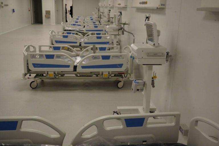 Coronavirus, Pronto il nuovo ospedale a Fiera Milano