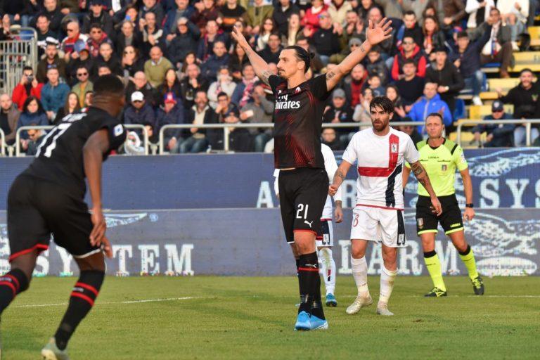 Per Ibrahimovic solo una lesione al soleo, tendine d'Achille integro