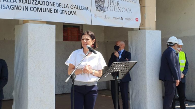 Al via i lavori per la galleria Scolmatore sul Bisagno a Genova