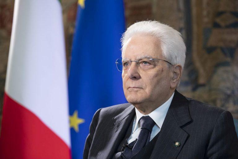"""Mattarella """"Ustica ferita profonda, i Paesi alleati collaborino"""""""