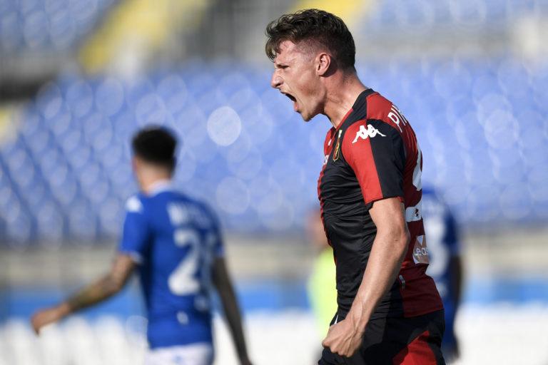 Due rigori e rimonta Grifone, Brescia-Genoa 2-2