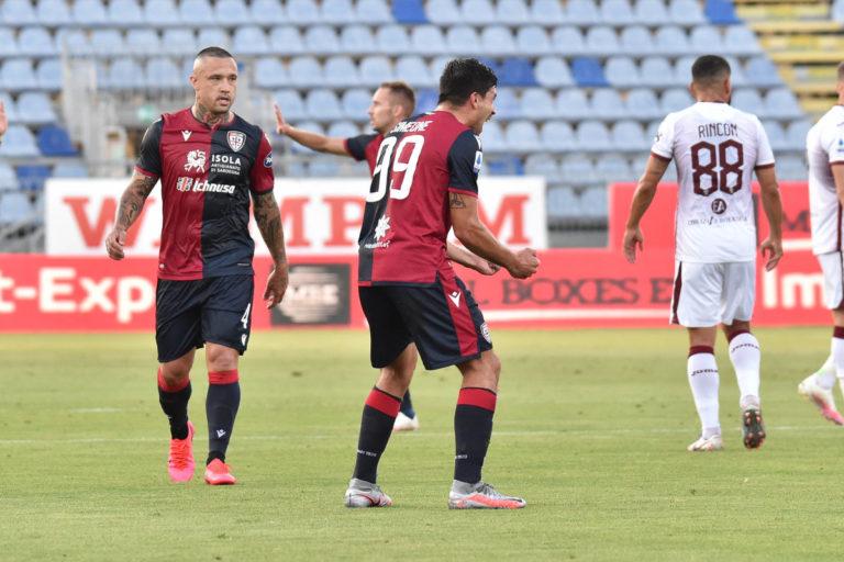 Joao Pedro ferma la rimonta del Toro, il Cagliari vince 4-2