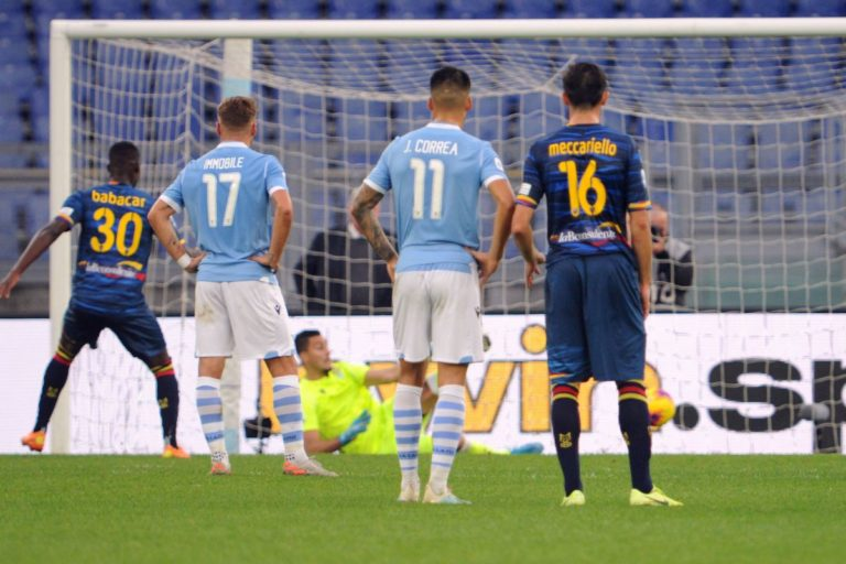 Caicedo illude la Lazio, il Lecce vince in rimonta 2-1